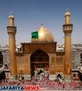 Story of Imam Ali b  Abi Talib, peace be on him, shrine
