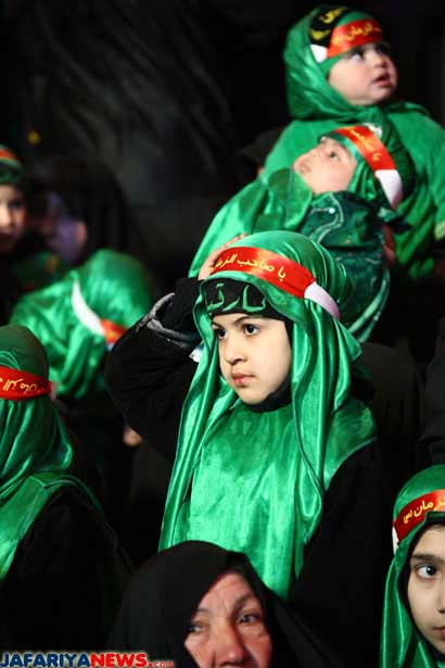 Karbala infants remember Abdullah Ar-Radee' | Jafariya News Network