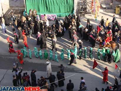 Safar 1 … Arrival of Sabaya Ahlil Bayt (AS) in Syria